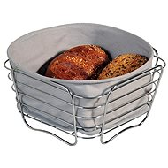 Kesper Stainless-Steel Basket with removable lining 21x21cm - Basket