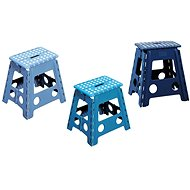 Kesper Plastic High Blue Stool - Children's furniture