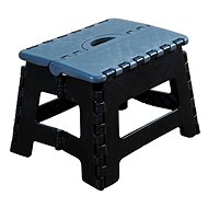 Kesper Plastic Stool, Black - Children's furniture