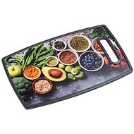 Kesper Cutting and Serving Board, Healthy Cooking 37 x 23cm