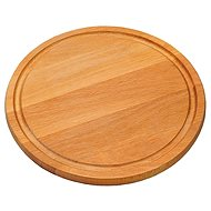 Kesper Round Beech Board, Diameter of 25cm