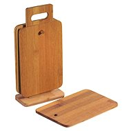 Kesper Stand with 6 Bamboo Boards, 22 x 14cm
