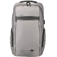 "Kingsons Business Travel Laptop Backpack 15.6"" grey"