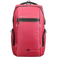 "Kingsons Business Travel Laptop Backpack 15.6"" red - Laptop Backpack"