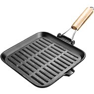 Lamart Frying Pan 23.5 cm Cast Iron LT1065 - Grilling Pan