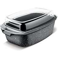 LAMART ROCK Roasting Pan with Lid 7.5l, LT1156