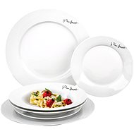 Lamart LT9001 round dining plates - 6 pieces - Dish set