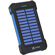 XLAYER Powerbank PLUS Solar 8000mAh black/blue - Powerbank
