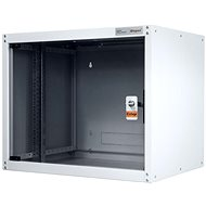 Legrand EvoLine Wall-mounted Data Cabinet 9U, 600 x 450mm, 65kg, Glass Door - Rack