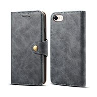 Lenuo Leather for iPhone SE 2020/8/7, Grey
