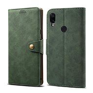 Lenuo Leather for Xiaomi Redmi Note 7, Green