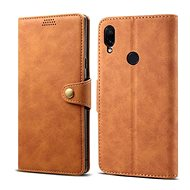 Lenuo Leather for Xiaomi Redmi Note 7, Brown