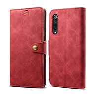 Lenuo Leather for Xiaomi Mi 9 SE, Red