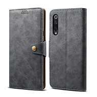 Lenuo Leather for Xiaomi Mi 9 SE, Grey - Mobile Phone Case