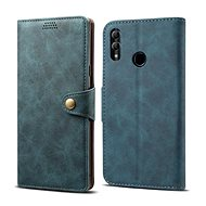 Lenuo Leather for Honor 10 Lite, Blue - Mobile Phone Case