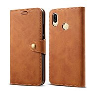 Lenuo Leather for Huawei P30 Lite/P30 Lite New Edition, Brown