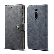 Lenuo Leather for Xiaomi Mi 9T/Mi 9T Pro, grey - Mobile Phone Case