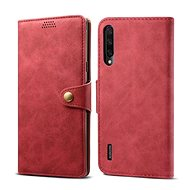 Lenuo Leather for Xiaomi Mi A3, red