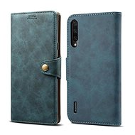 Lenuo Leather for Xiaomi Mi A3, blue