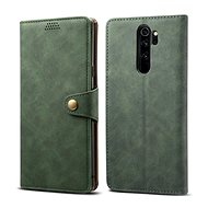 Lenuo Leather for Xiaomi Redmi Note 8 Pro, green - Mobile Phone Case