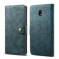 Lenuo Leather for Xiaomi Redmi 8A, Blue - Mobile Phone Case
