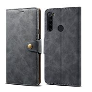 Lenuo Leather for Xiaomi Redmi Note 8T, grey - Mobile Phone Case