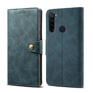 Lenuo Leather for Xiaomi Redmi Note 8T, blue - Mobile Phone Case