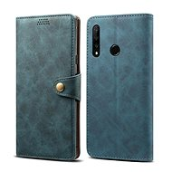 Lenuo Leather for Honor 9X, Blue - Mobile Phone Case