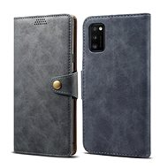 Lenuo Leather for Samsung Galaxy A41, Grey
