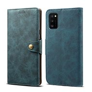 Lenuo Leather for Samsung Galaxy A41, Blue
