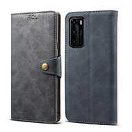 Lenuo Leather for Huawei P40, Grey