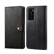 Lenuo Leather for Huawei P40, Black