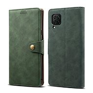 Lenuo Leather for Huawei P40 Lite, Green