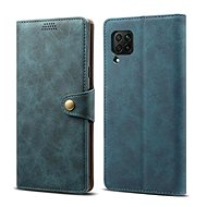 Lenuo Leather for Huawei P40 Lite, Blue