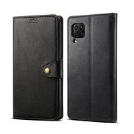 Lenuo Leather for Huawei P40 Lite, Black