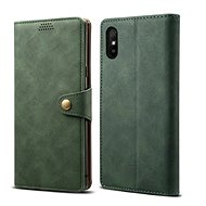 Lenuo Leather for Xiaomi Redmi 9A, Green - Mobile Phone Case