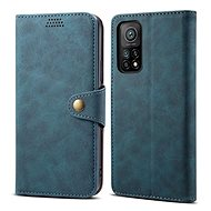 Mobile Phone Case Lenuo Leather for Xiaomi Mi 10T/10T Pro, Blue