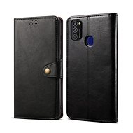 Lenuo Leather for Samsung Galaxy S21 5G, Black