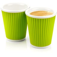 LES ARTISTES A-0632 Green Mug Set 2pcs 180ml - Coffee Cups