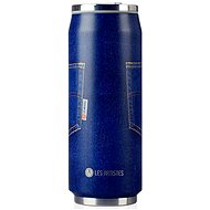 LES ARTISTES Travel Thermos Flask, 500ml, Blue Jean,  A-1885 - Thermal Mug