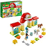 LEGO DUPLO Town 10951 Horse Stable and Pony Care - LEGO Set