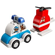 LEGO DUPLO My First 10957 Fire Helicopter & Police Car - LEGO Building Kit