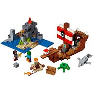LEGO Minecraft 21152 The Pirate Ship Adventure - Building Kit