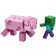 LEGO Minecraft 21157 BigFig Pig with Baby Zombie