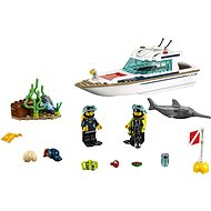 LEGO City 60221 Diving Yacht - Building Kit