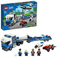 LEGO City Police 60244 Police Helicopter Transport - LEGO Building Kit