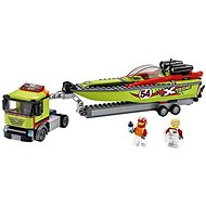 LEGO City Great Vehicles 60254 Race Boat Transporter - Building Kit