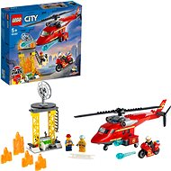 LEGO City 60281 Fire Rescue Helicopter - LEGO Building Kit