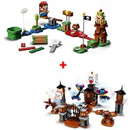 LEGO® Super Mario ™ 71360 Starter Set + 71377 King Boo and the Haunted Yard - LEGO Building Kit