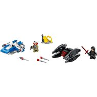 LEGO Star Wars 75196 A-Wing vs. TIE Silencer Microfighters - Building Kit